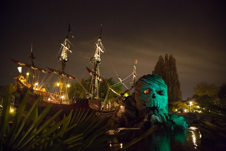 Disneyland Paris Pirate Boat