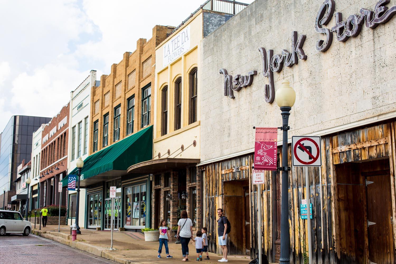 Downtown Tyler Texas