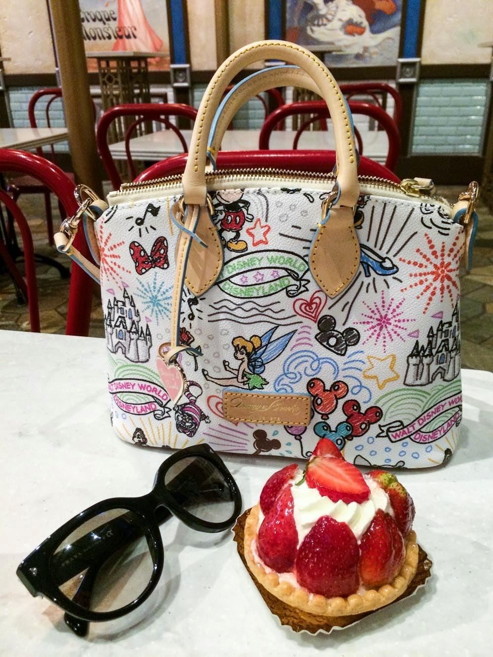 Les Halles Boulangerie & Pâtisserie Epcot Strawberry Tart
