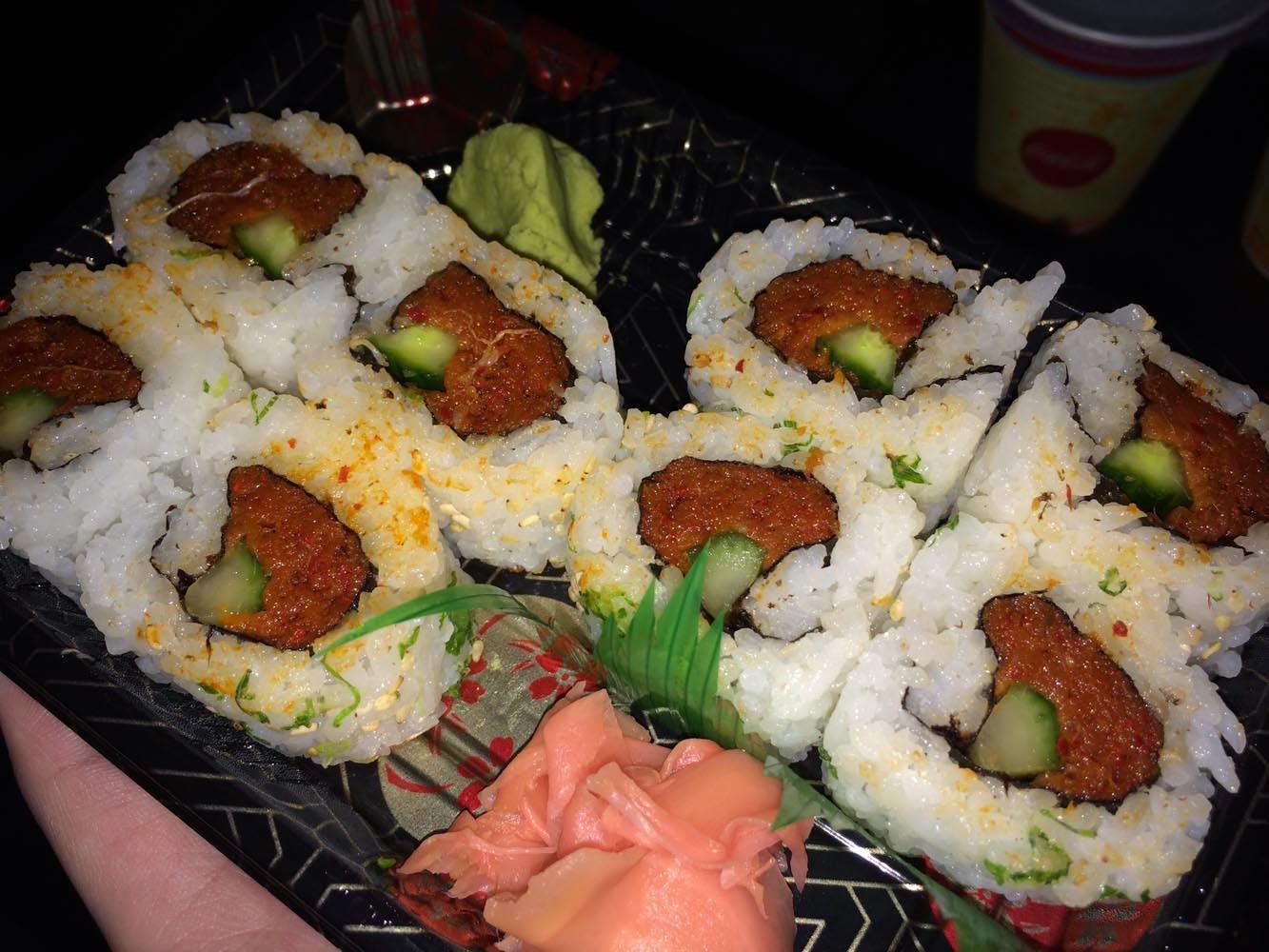 Epcot World Show Case Japan Sushi Rolls