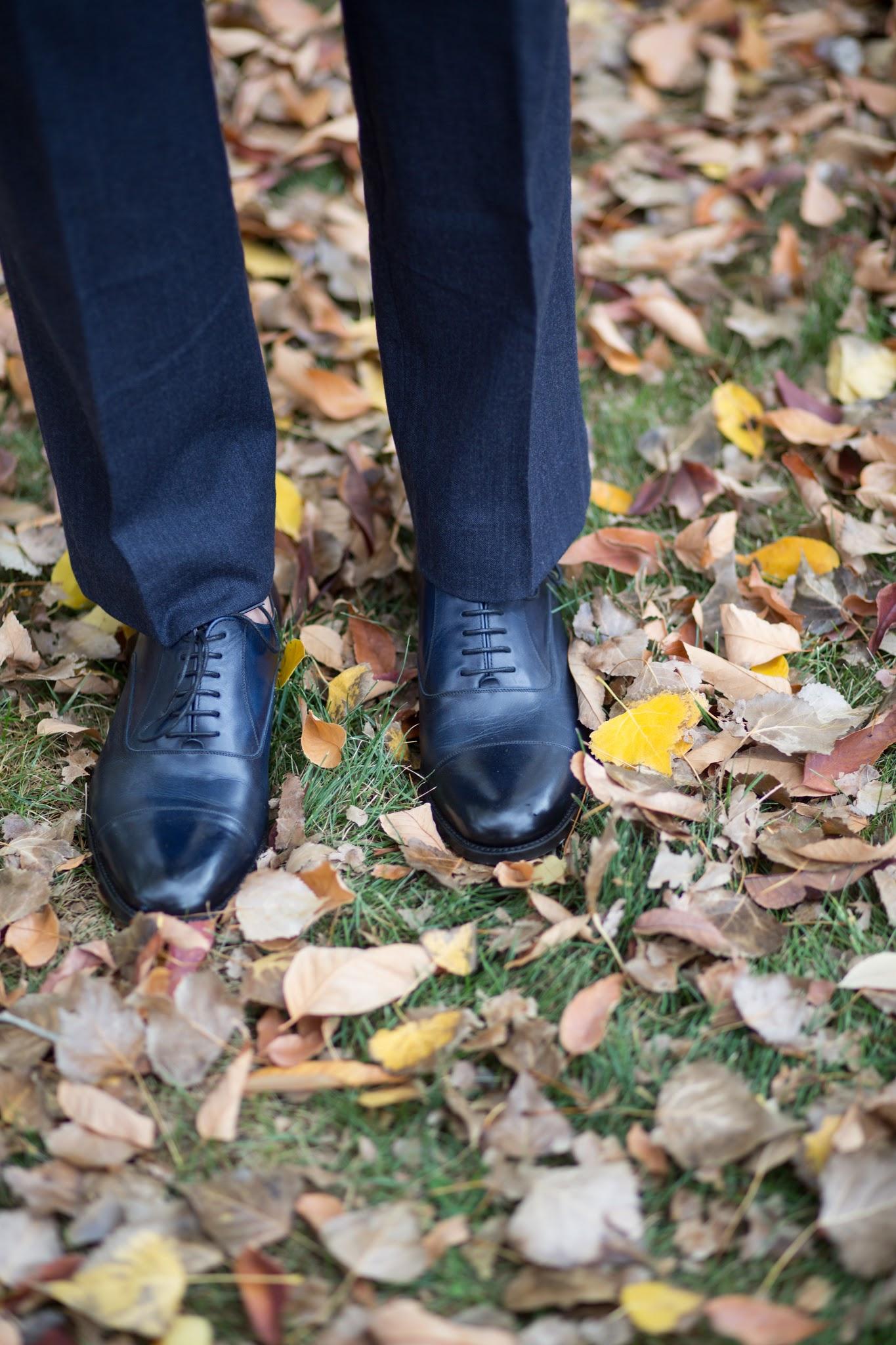 Shoe Passion Toe Cap Shoes in Blue