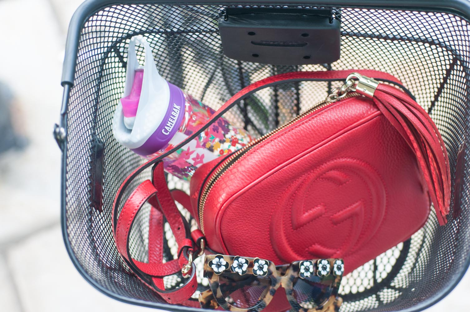 Gucci Soho Disco Bag in Red