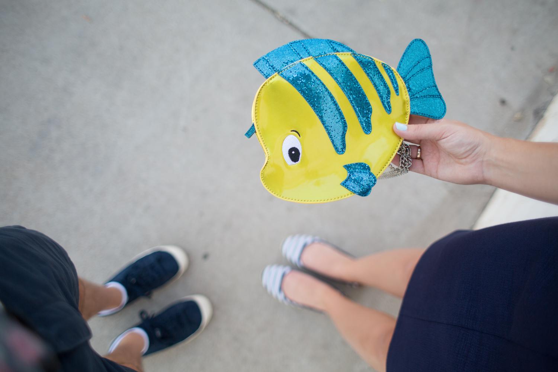 Disney Style Flounder Handbag by Danielle Nicole