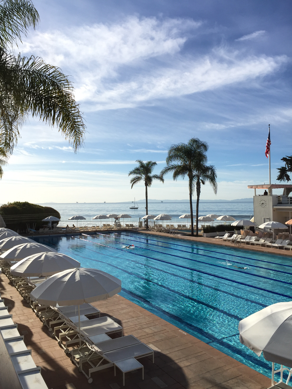 Four Seasons The Biltmore in Santa Barbara and the Coral Casino Beach and Cabana Club Pool
