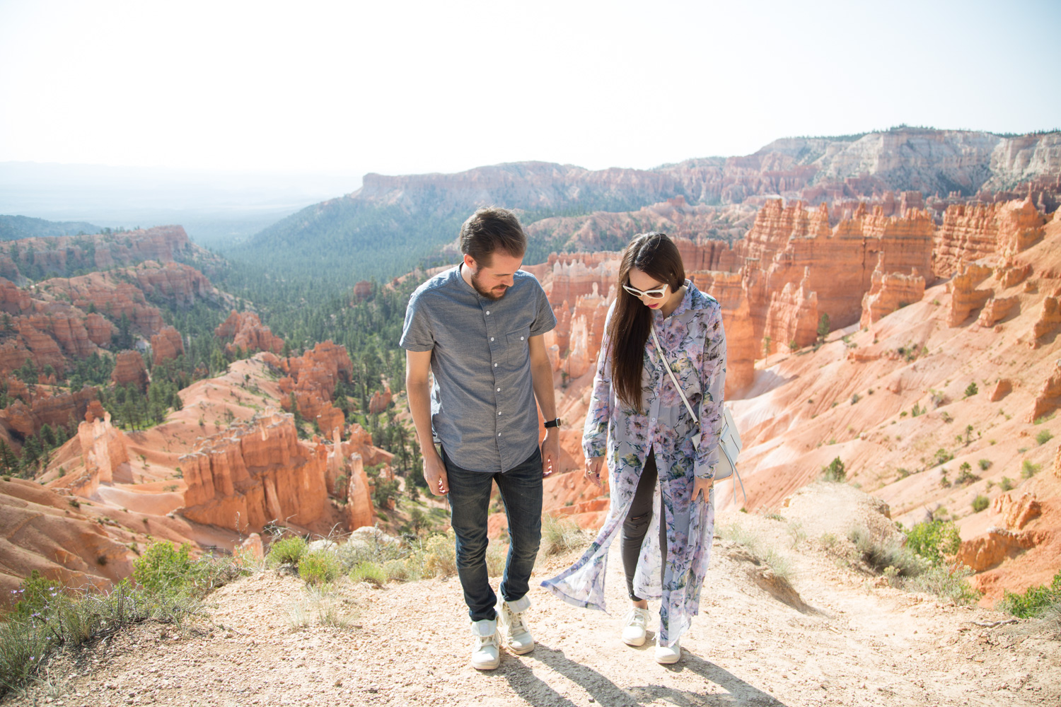 His and Her Style at Bryce Canyon