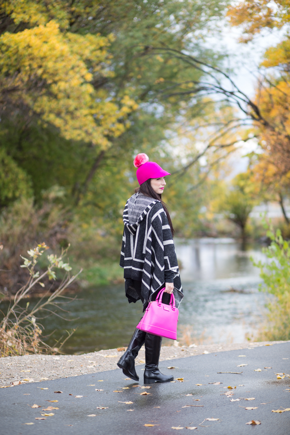 Kate Spade Hot Pink Pom Pom Hat Review