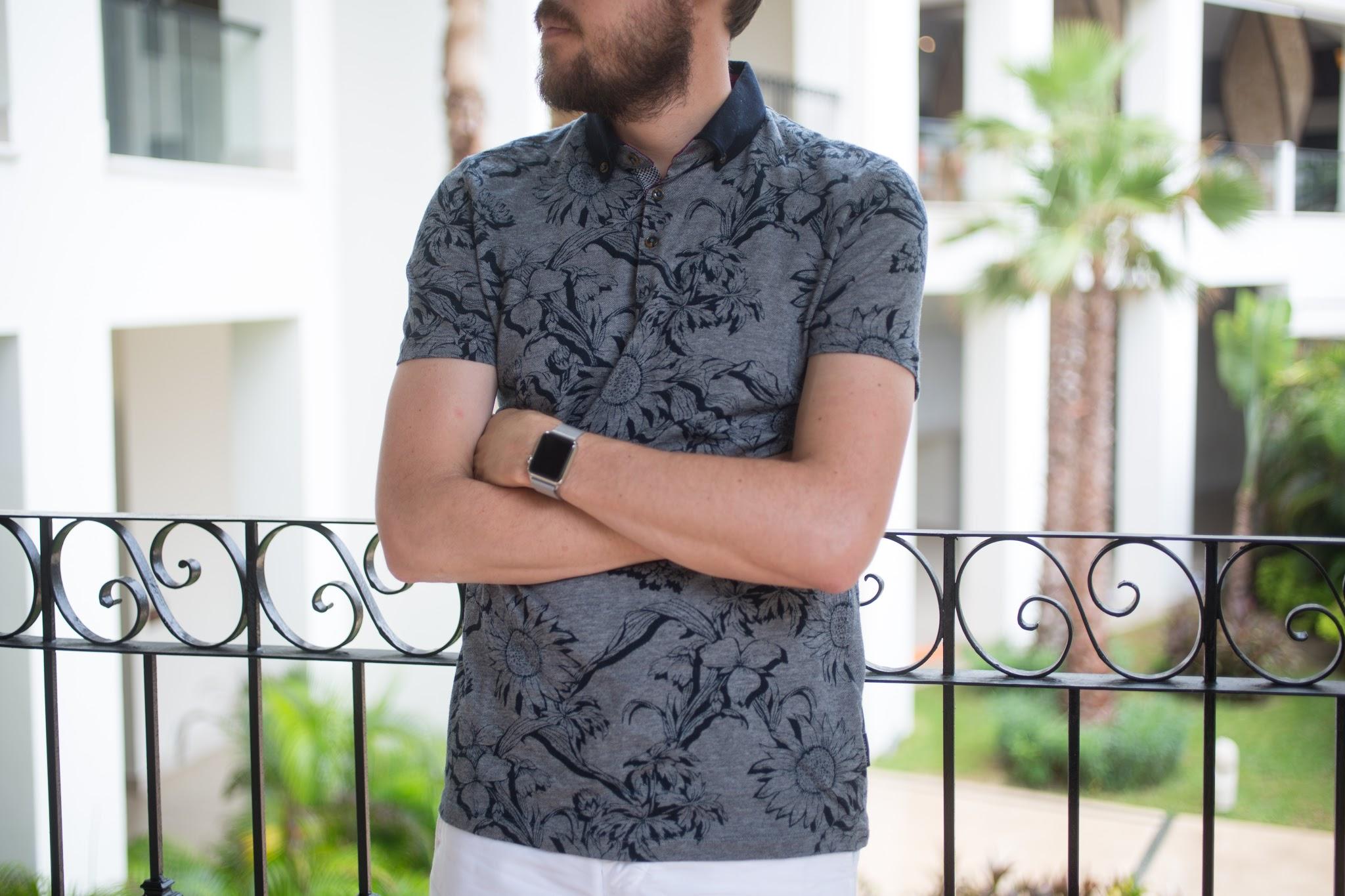 Mens Resort Beach Wear Style