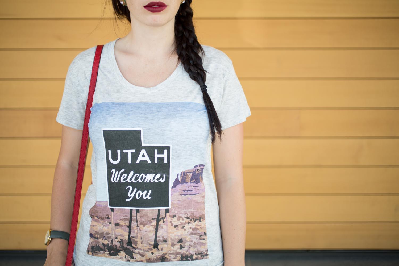 Utah Welcomes You Tee