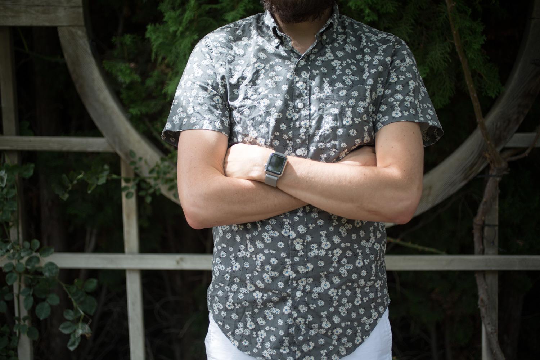 Jcrew Short Sleeve Floral Shirt