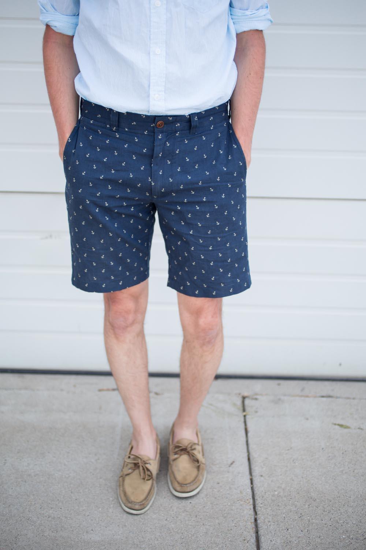 Jcrew Anchor Shorts