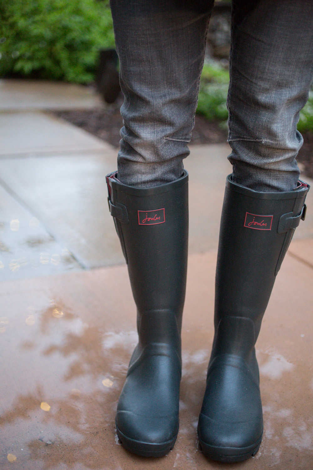 Rainy Day Style- Mens Joules USA Rain Boots