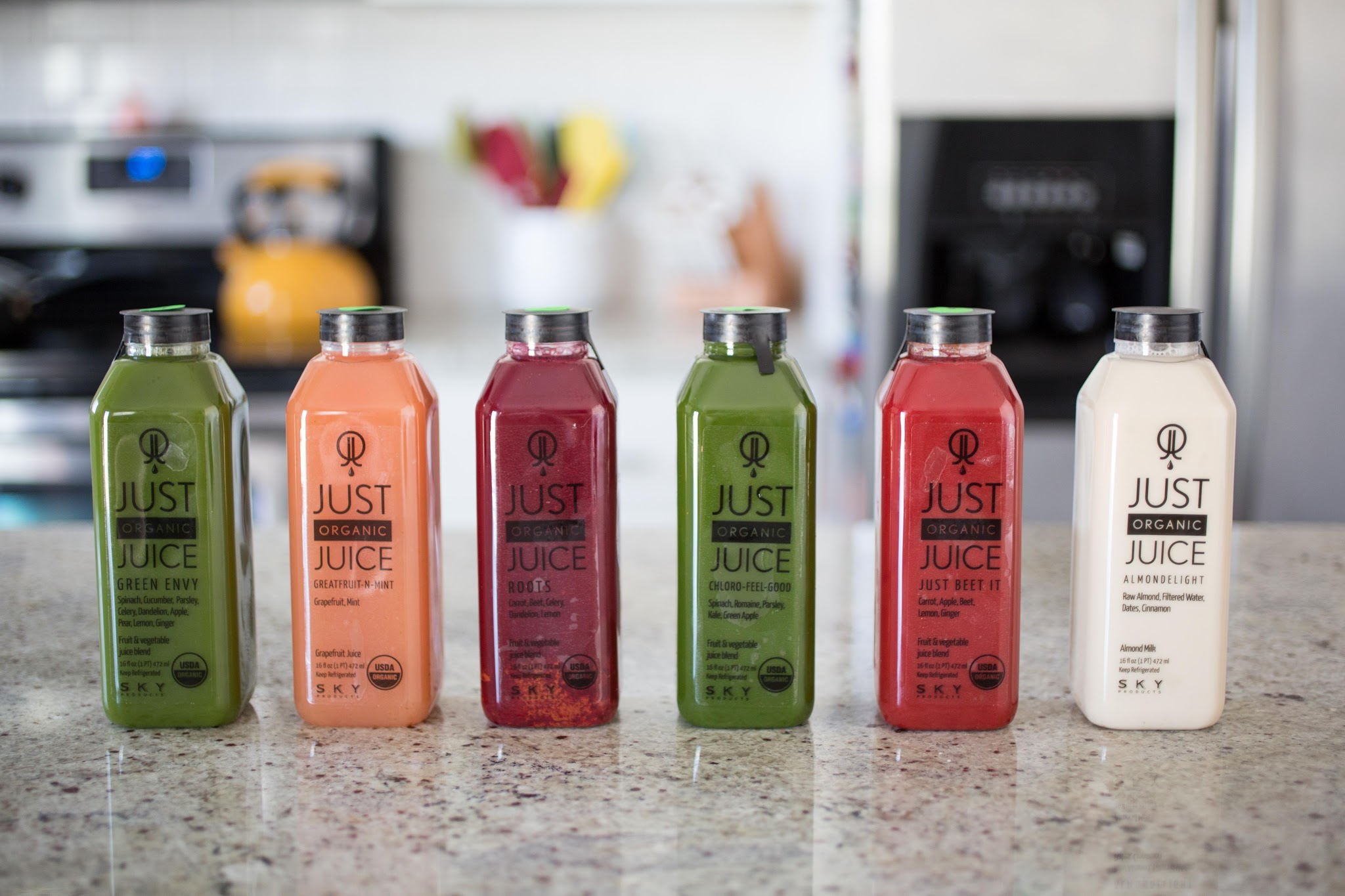 Just Organic Juice One Day Cleanse