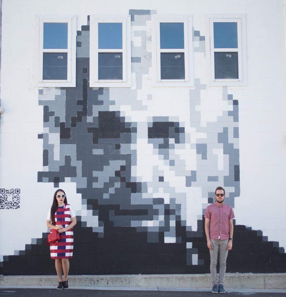 Albert Einstein Pixilated Wall Art