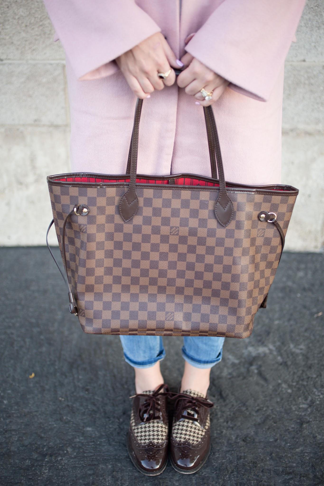 Louis Vuitton Damier Ebene Canvas Bag