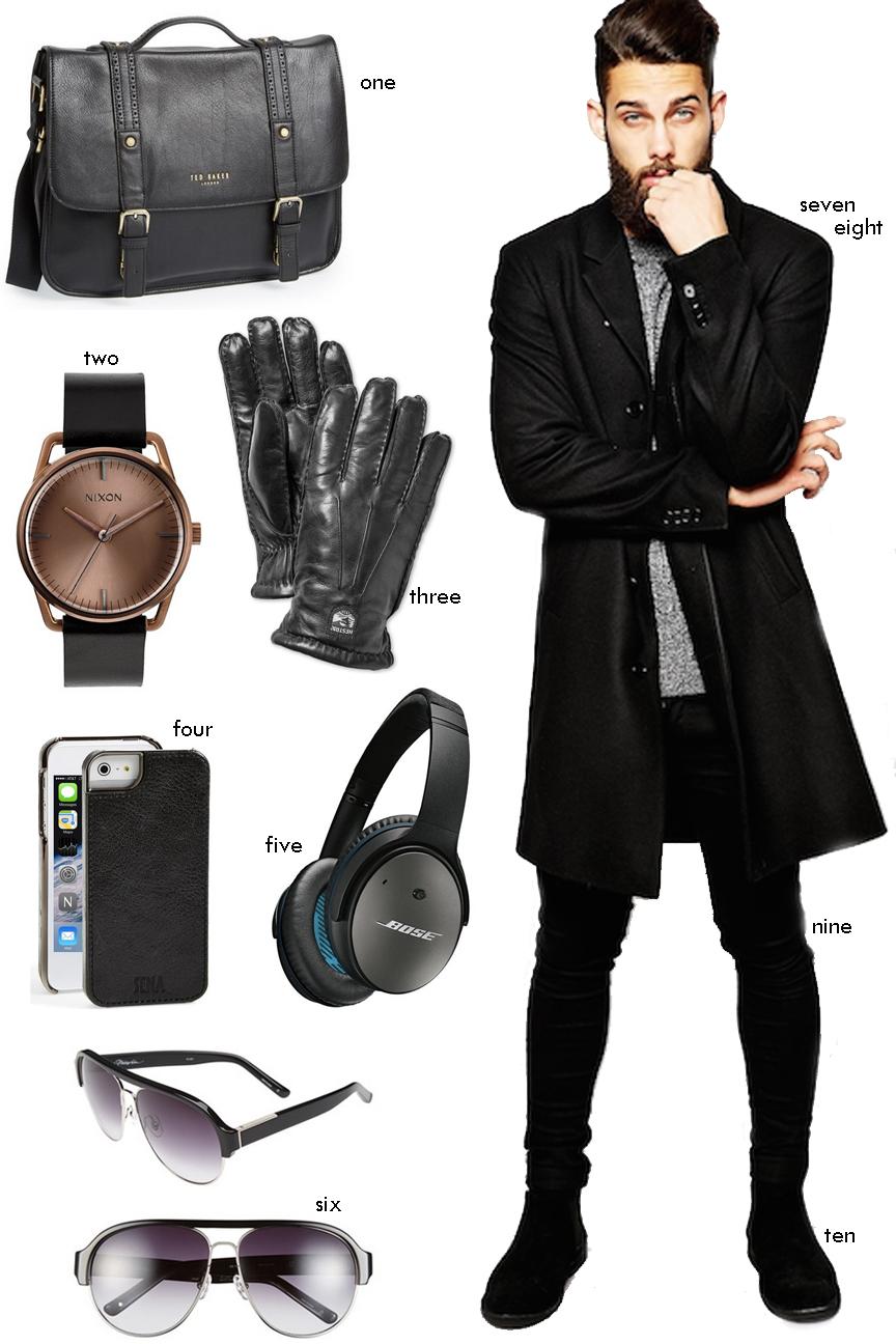 Menswear Winter WIsh List