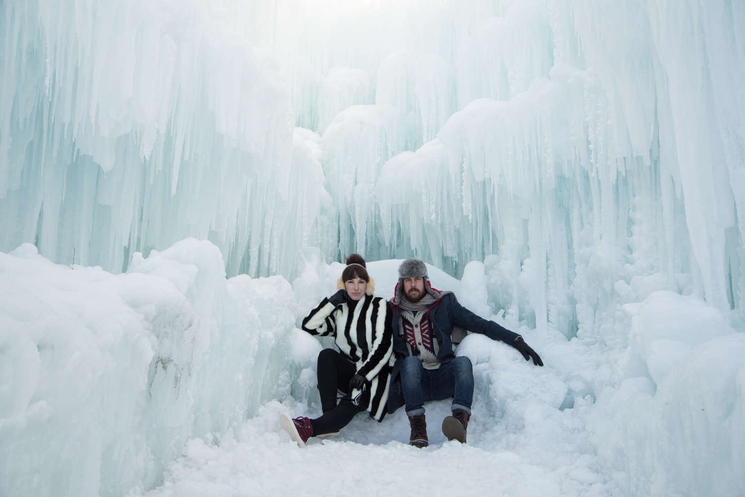 Midway Ice Castles 2016