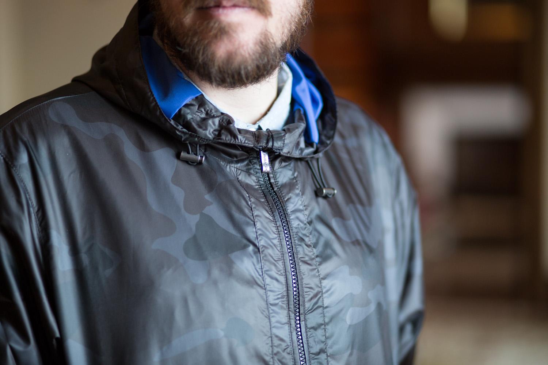Camo Menswear Rain Jacket