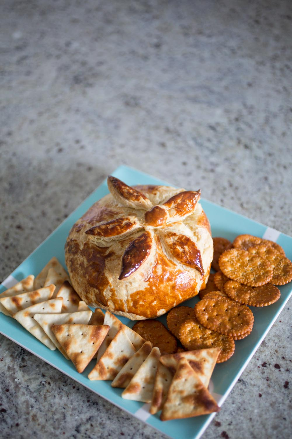 Baked Brie- The Perfect Holiday Appetizer! Easy and Tasty!