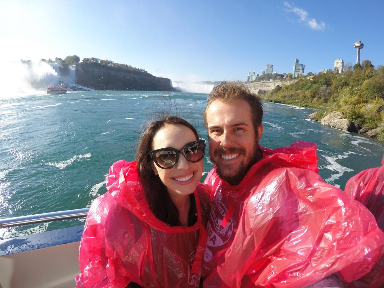 Niagara Falls Boat Ride in Canada