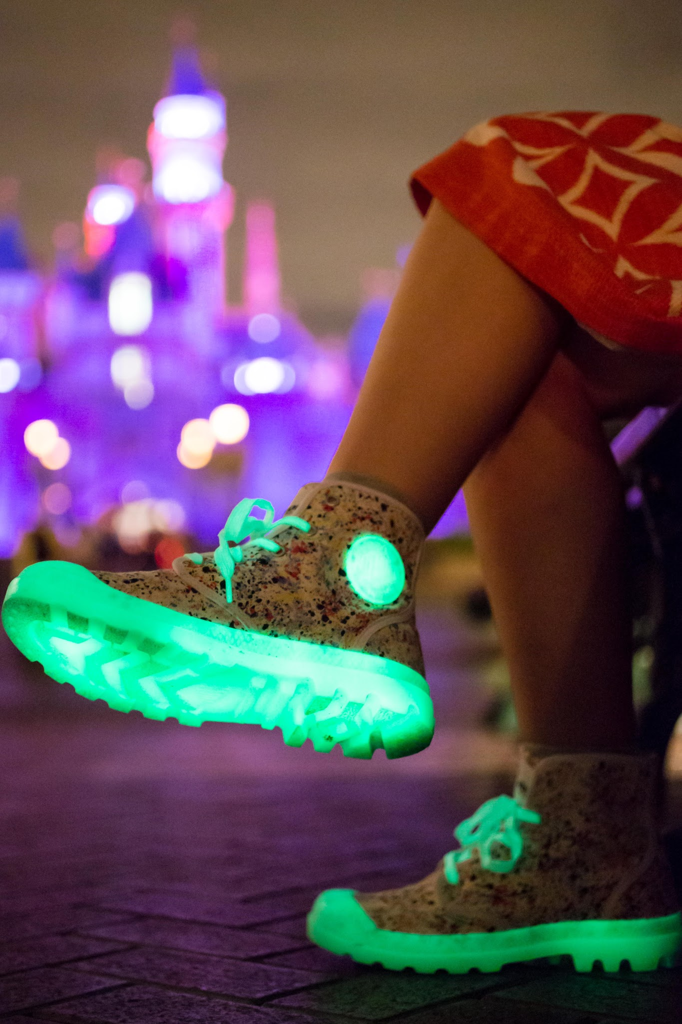 Palladium Boots Atmos Glow in the Dark Shoes