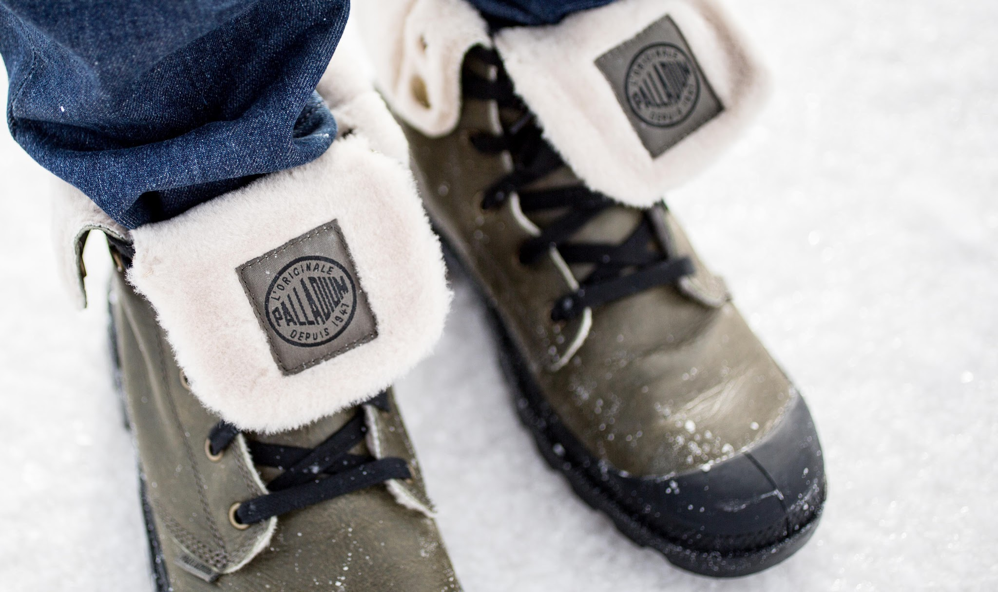 Palladium Boots Wool Lined Baggy Lt