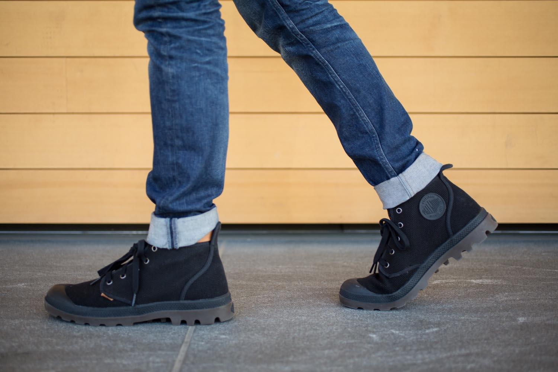 Palladium Boots Pampa High in Black
