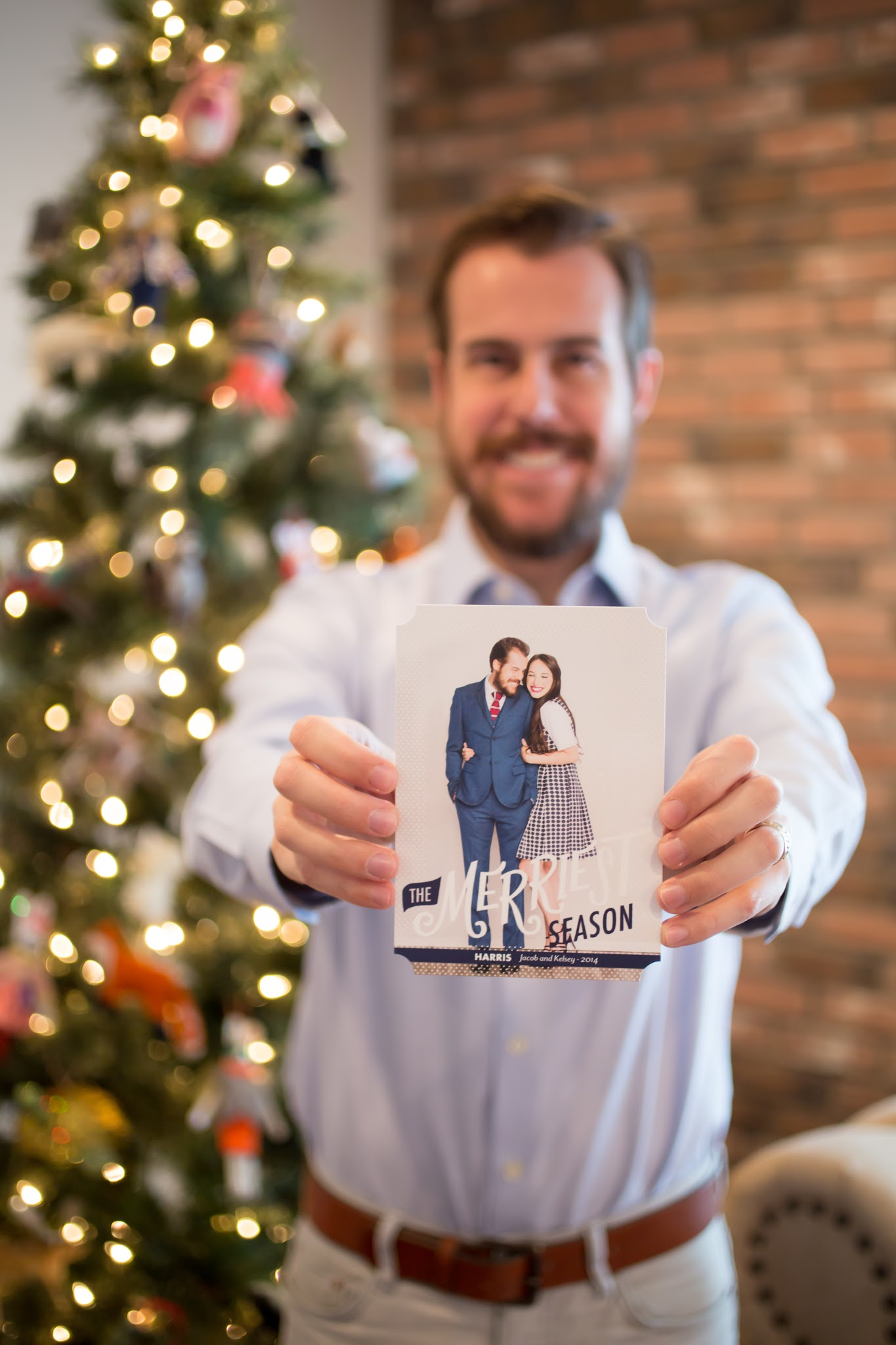 Christmas Cards with Tiny Prints