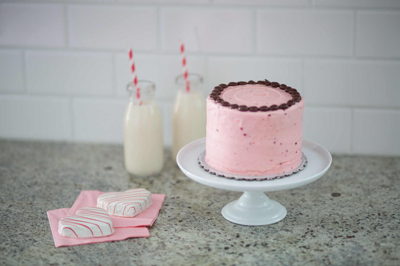 Pink Raspberry Mini Cake
