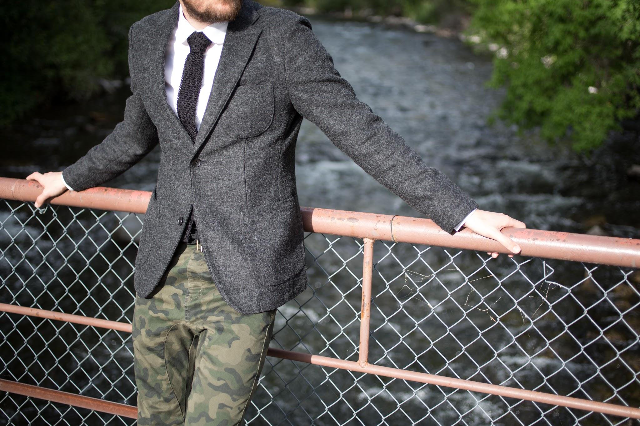 Jcrew Knit Tie in Black
