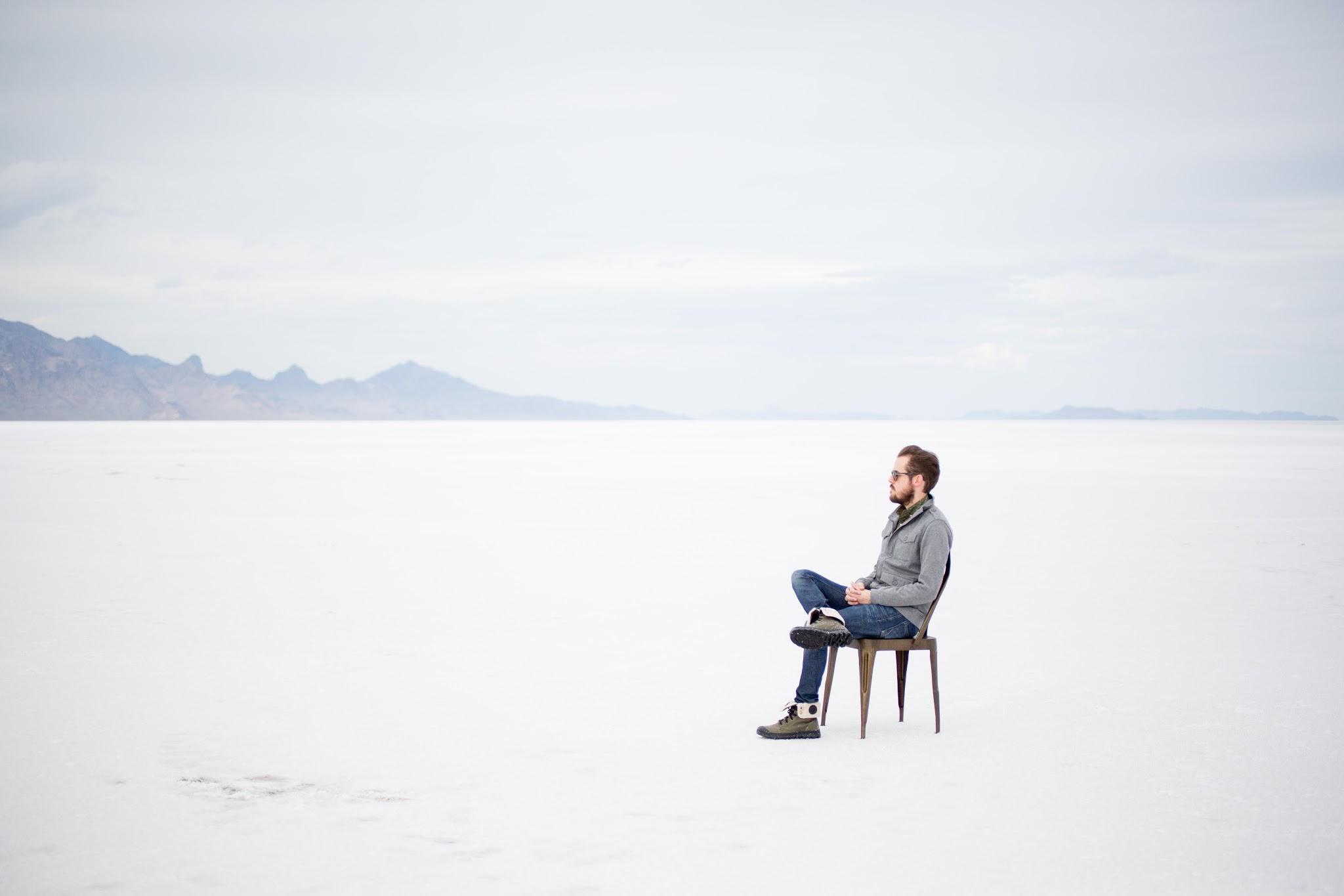 The Bonneville Salt Flats