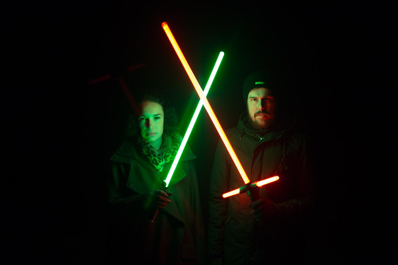 Hasbro Kylo Ren and Yoda Light Saber Review