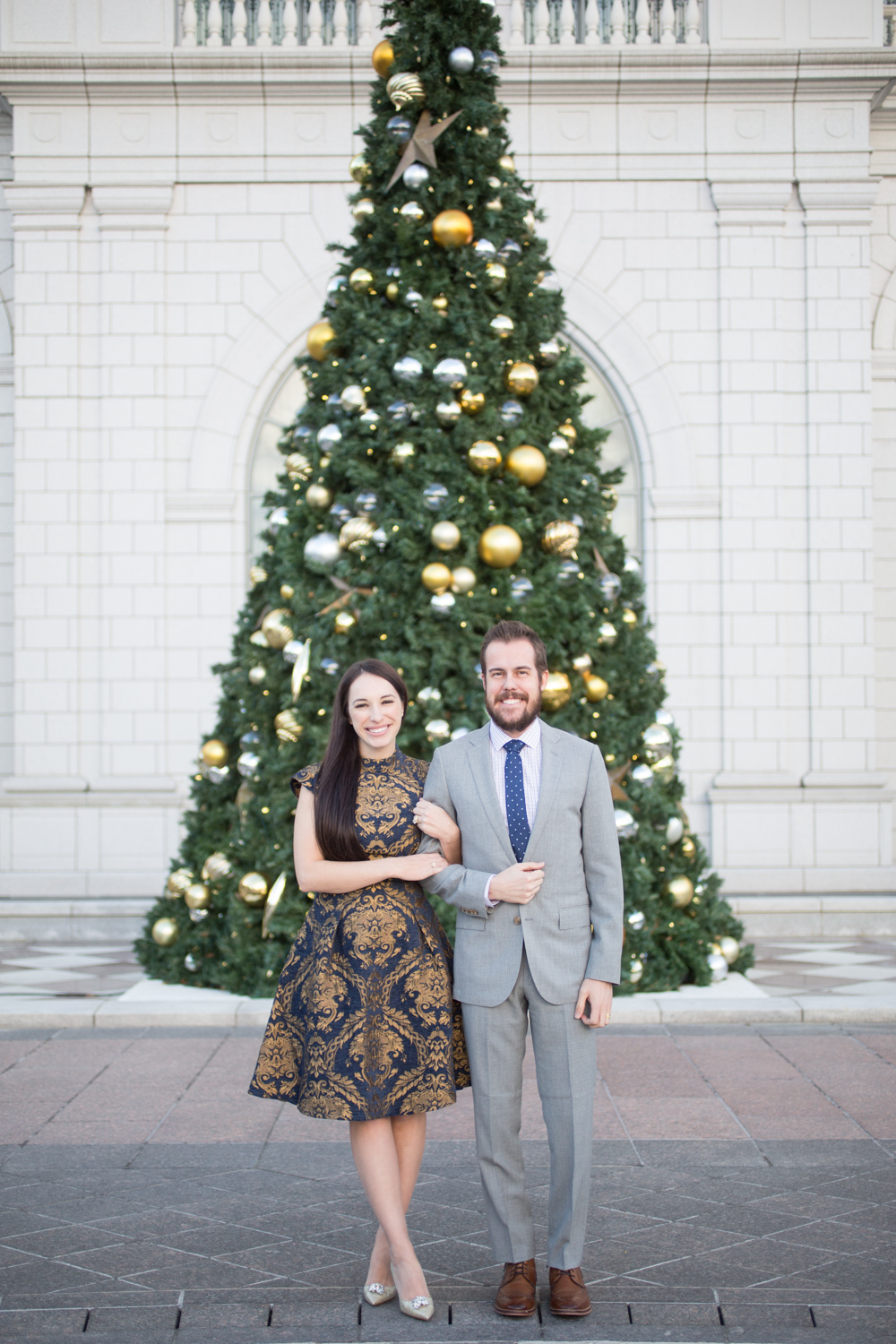 Christmas Time at The Grand America Hotel + VLOG