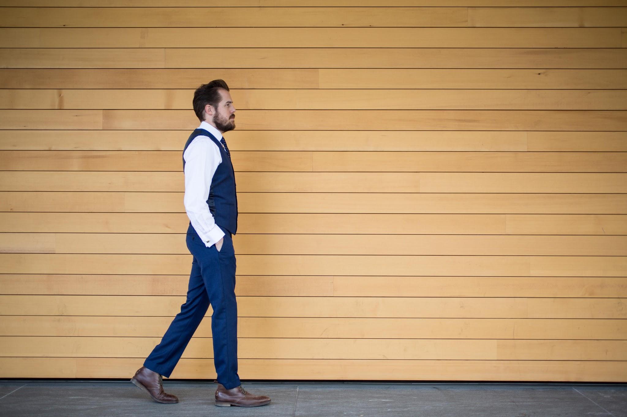 Navy Topman Slim Fit Suit