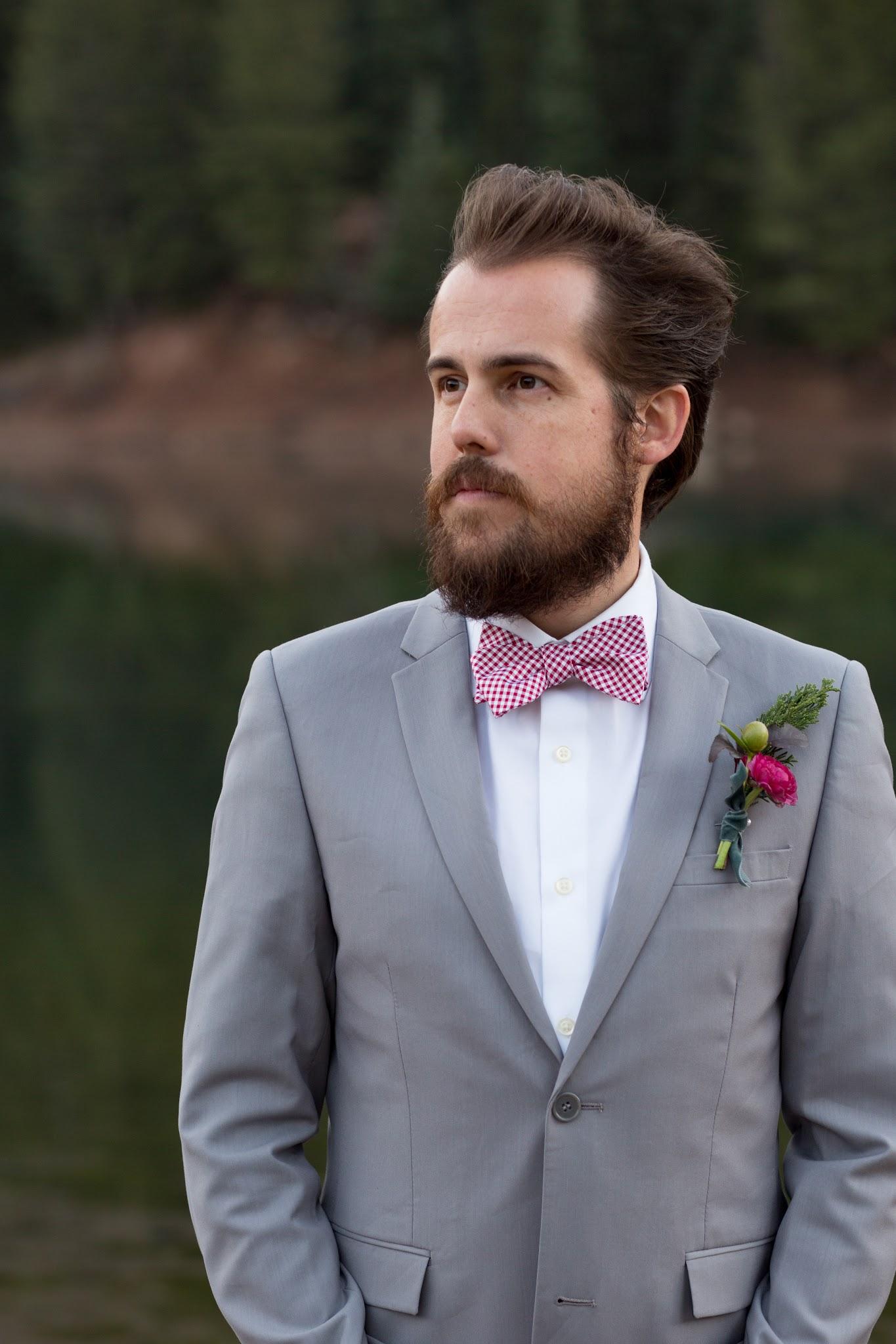 Gingham Bowtie- Wedding Style