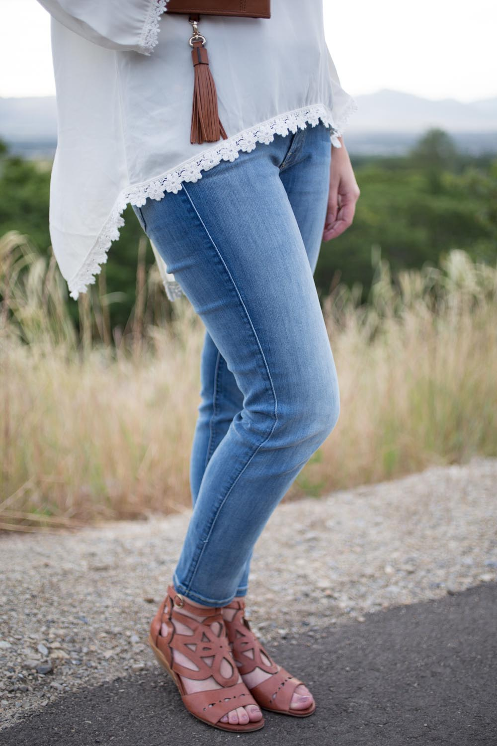 boho styled outfit