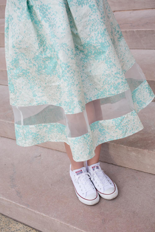 ASOS Fitted Midi Skirt