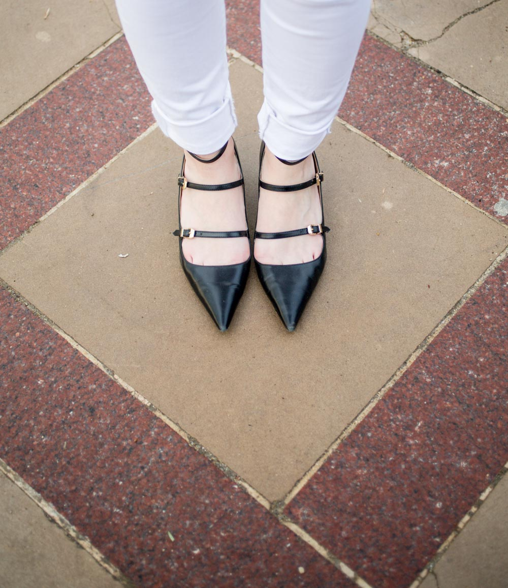 Zara Strappy Shoes